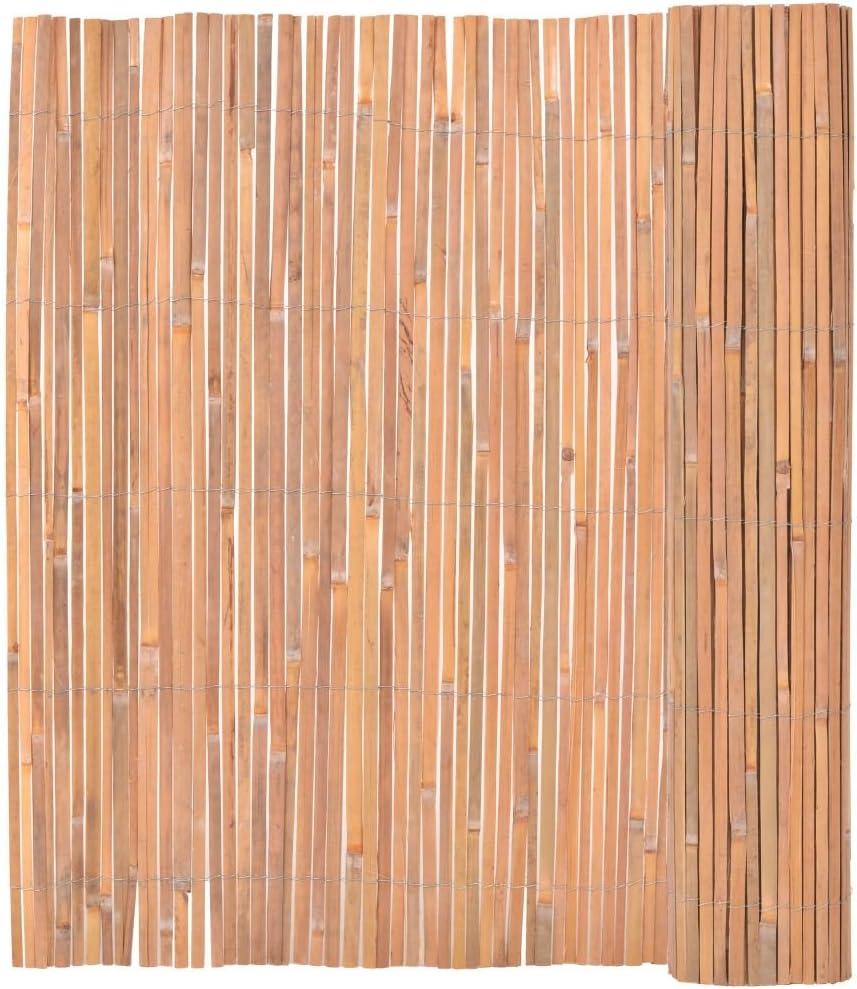 Vidaxl Bambusmatte Bambus 150x400cm Sichtschutzzaun Sichtschutz