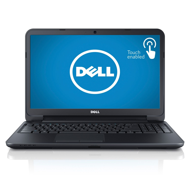 Dell Inspiron 15 i15RVT-6429BLK Touch screen Laptop, i3-3227U, 4GB Memory, 500GB Hard Drive, Win8 by Dell   B00DVFH1IA