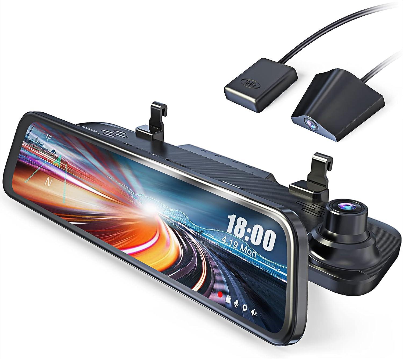 Front and Rear Dual Lens Car Camera Waterproof Backup Rear View ...