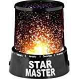 Star Master LED Starry Night Sky Lamp Projector Relaxing Mood Light Bedroom Living Room Romantic Luminous