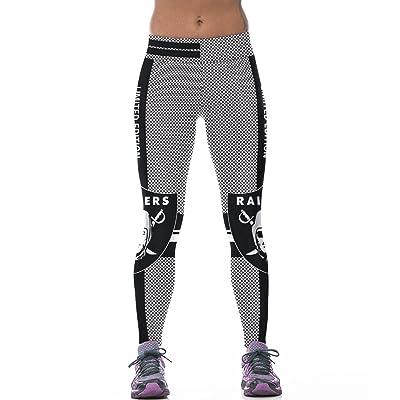 7TECH Women's Printed Leggings Breathable Stretch Sports Pants Average Size