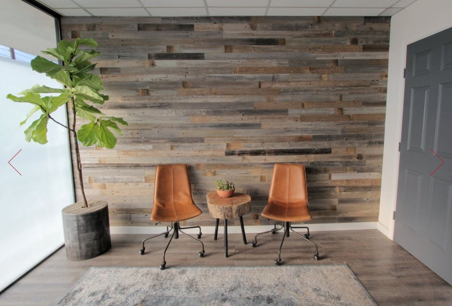 Amazon.com: Reclaimed Barn Wood Wall Panels   DIY Peel And Stick Easy  Installation, 10 Sq Ft: Home U0026 Kitchen