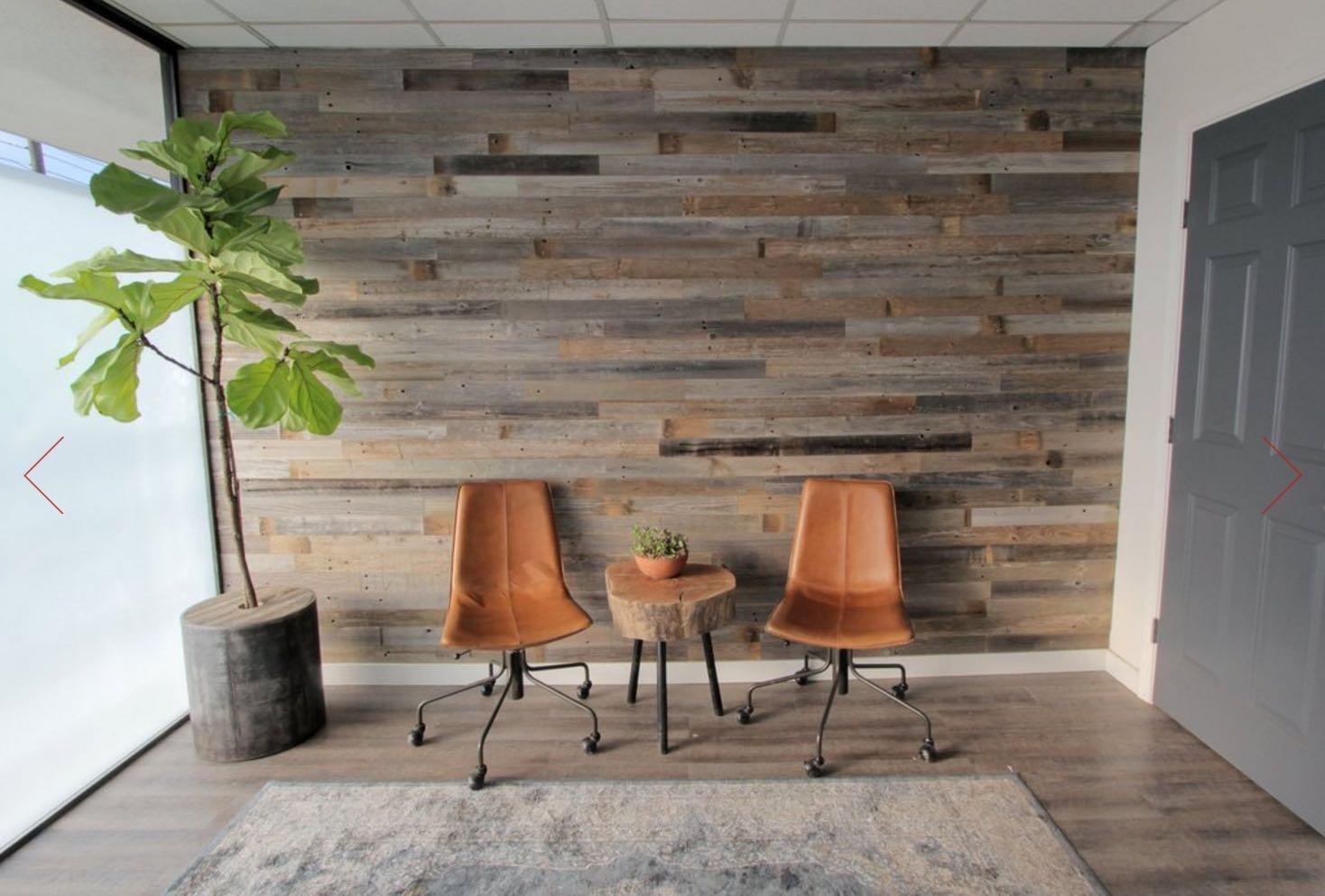 Reclaimed Barn Wood Wall Panels Diy Peel And Stick Easy