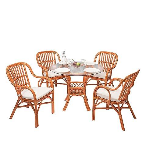 Rotin Design Rebajas : -52% Salon de Ratan Laren marrón ...