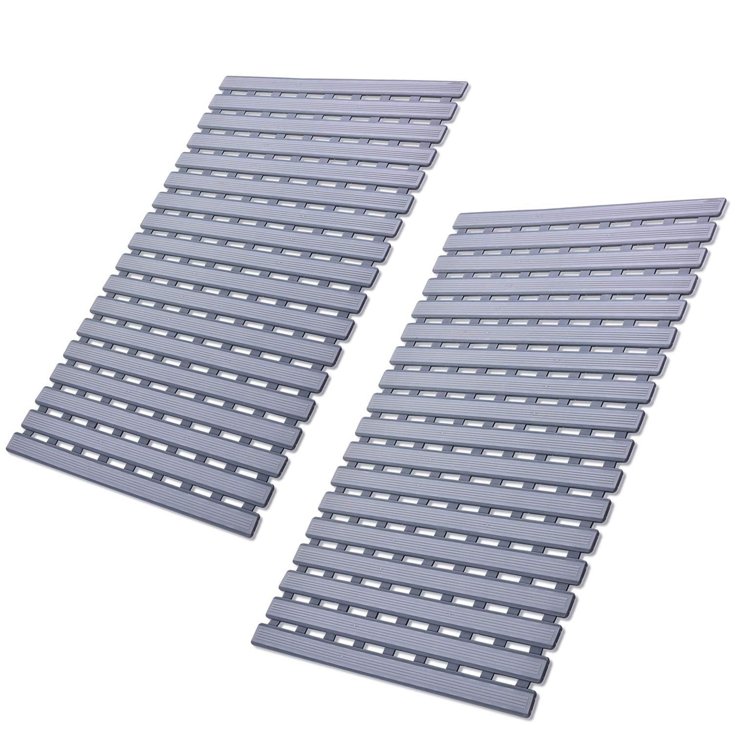 2deca0974534 Non Slip Shower Floor Mat with Drain Hole by ifrmmy- Anti-Slip and Mold