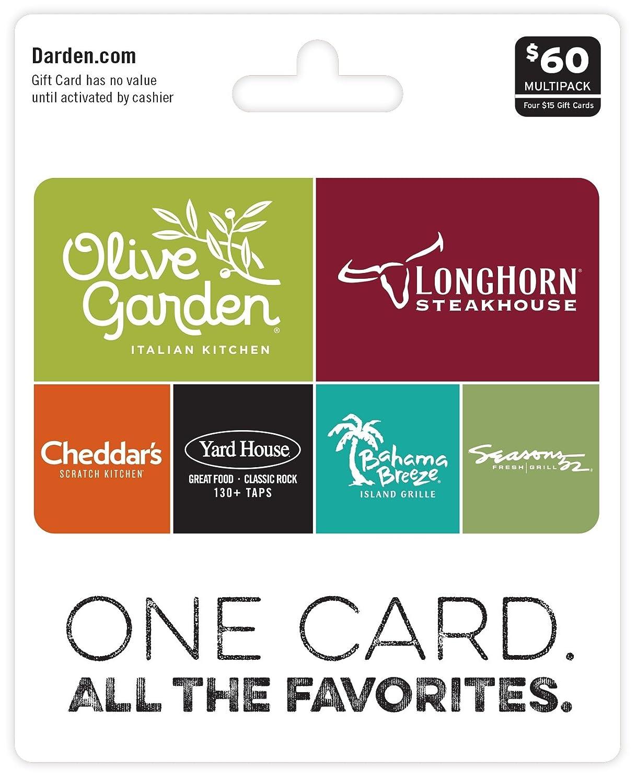 Darden Restaurants, Multipack of 4 Multipack of 4 - $15