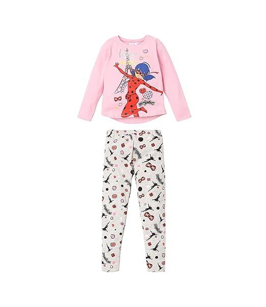 Prodigiosa: Las aventuras de Ladybug Pijama para Chicas: Amazon.es: Ropa y accesorios
