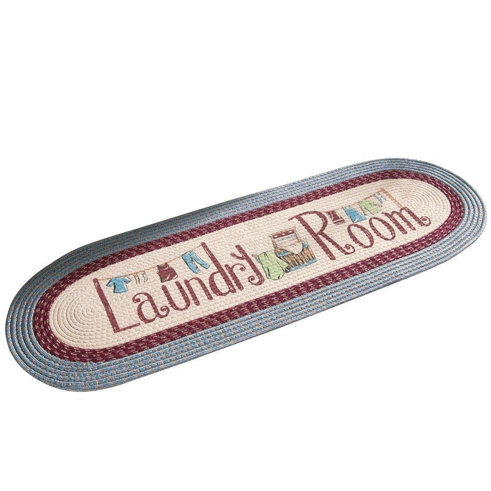 Braided Laundry Room Decorative Runner Rug Winston Brands 94933