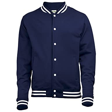 AWDis Campanas College Chaqueta Oxford Azul Marino XL ...