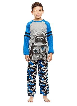 cbe1f26a75 Amazon.com  Boys 2 Piece Pajama Set