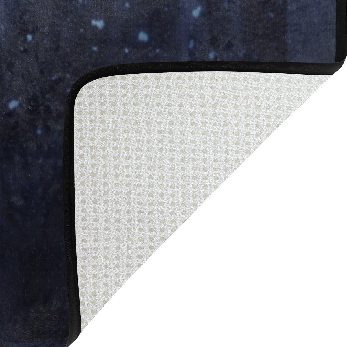 60 x 39 inch multicolore Coosun Loup For/êt Zone Tapis Moquette antid/érapant Tapis de sol Paillasson Salon Chambre /à coucher 152,4/x 99,1/cm Tissu