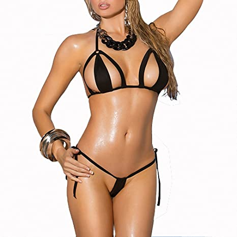 Will not ordinary women tiny bikinis assured, that