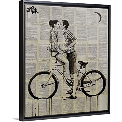 Amazon.com: Loui Jover Floating Frame Premium Canvas with ...