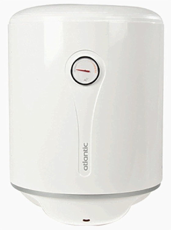 ATLÁNTICO EGO caldera calentador de agua eléctrico enchufe 80 litros, válvula de seguridad, un termómetro y calentador de agua indicador.