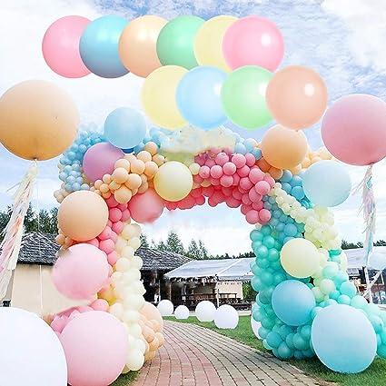 18inch Colorful Big Balloons Wedding Balloon Latex Birthday Party Decor