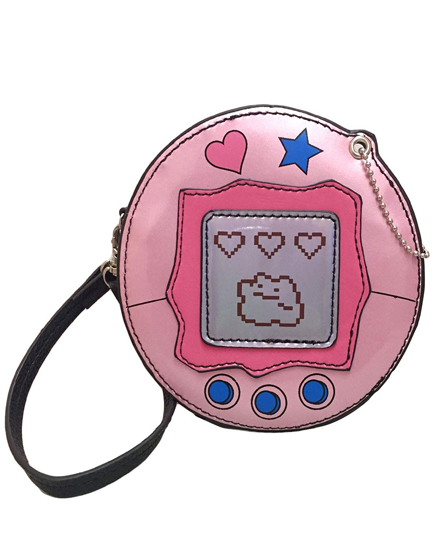 Sidecca Novelty 90's Game Device Wristlet Bag