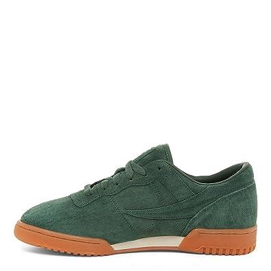 a6e88638b97f Fila Men s Original Fitness Premium Suede Lowrise Shoes Sneakers (Syca Gum)  (7.5