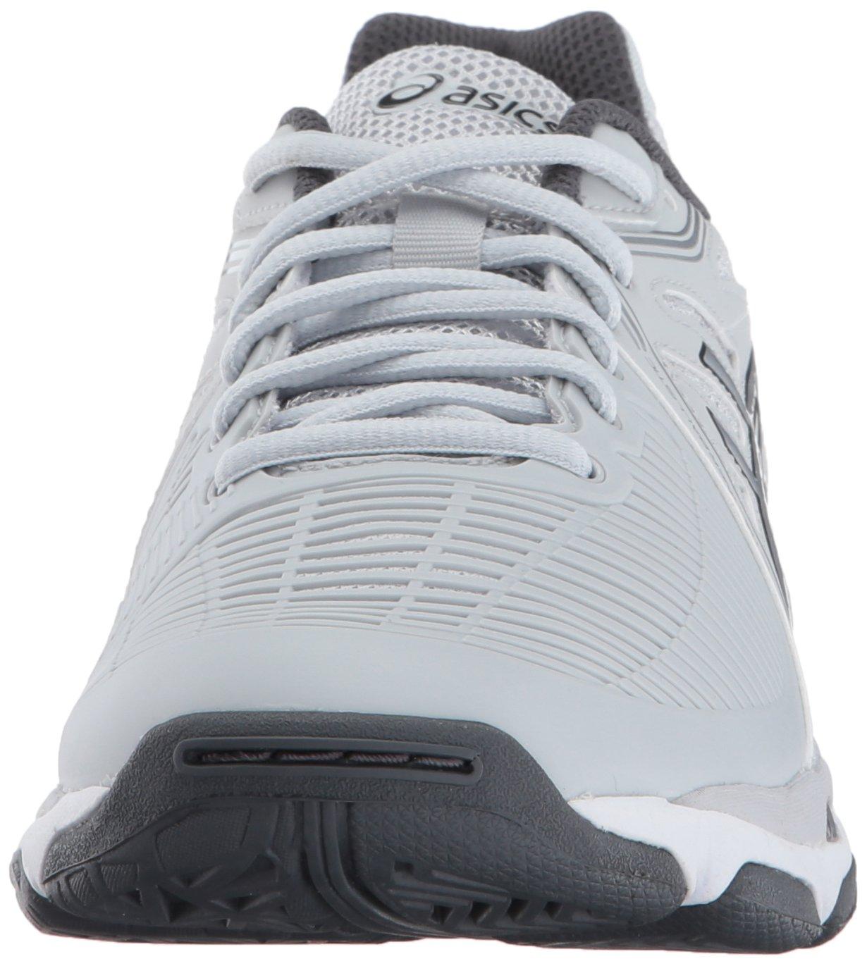 2717b8826fc ... ASICS Women s Gel-Netburner Ballistic Grey Silver Dark Volleyball-Shoes  B01N3MAH7N 7 ...