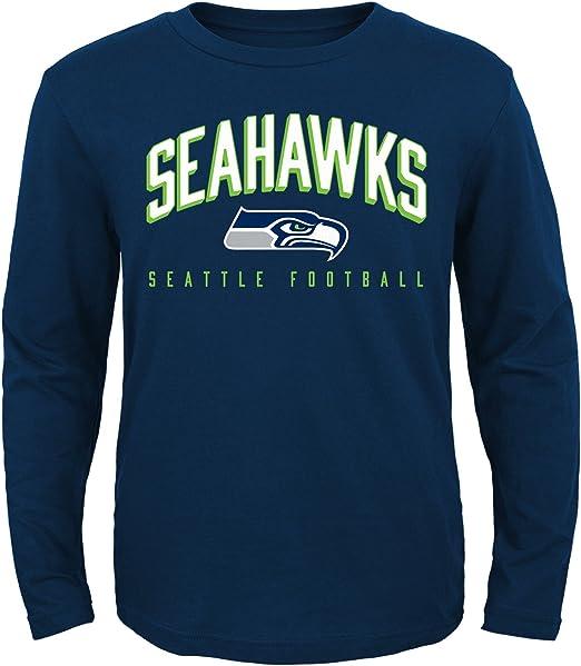 NFL Boy/'s 8-18 Team Logo Tee Shirt Youth Kids T-Shirt Tee Football NEW