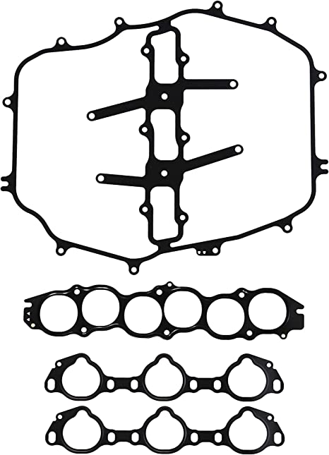 Engine Intake Manifold Gasket-Fuel Injection Plenum Gasket DNJ MG143