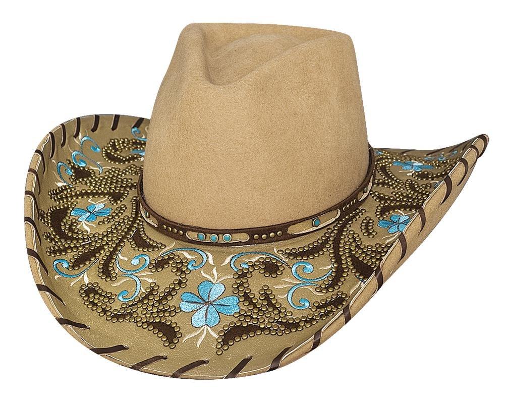 Montecarlo Bullhide Hats ALWAYS ON MY MIND Premium Wool Cowboy Western Hat (XLarge)