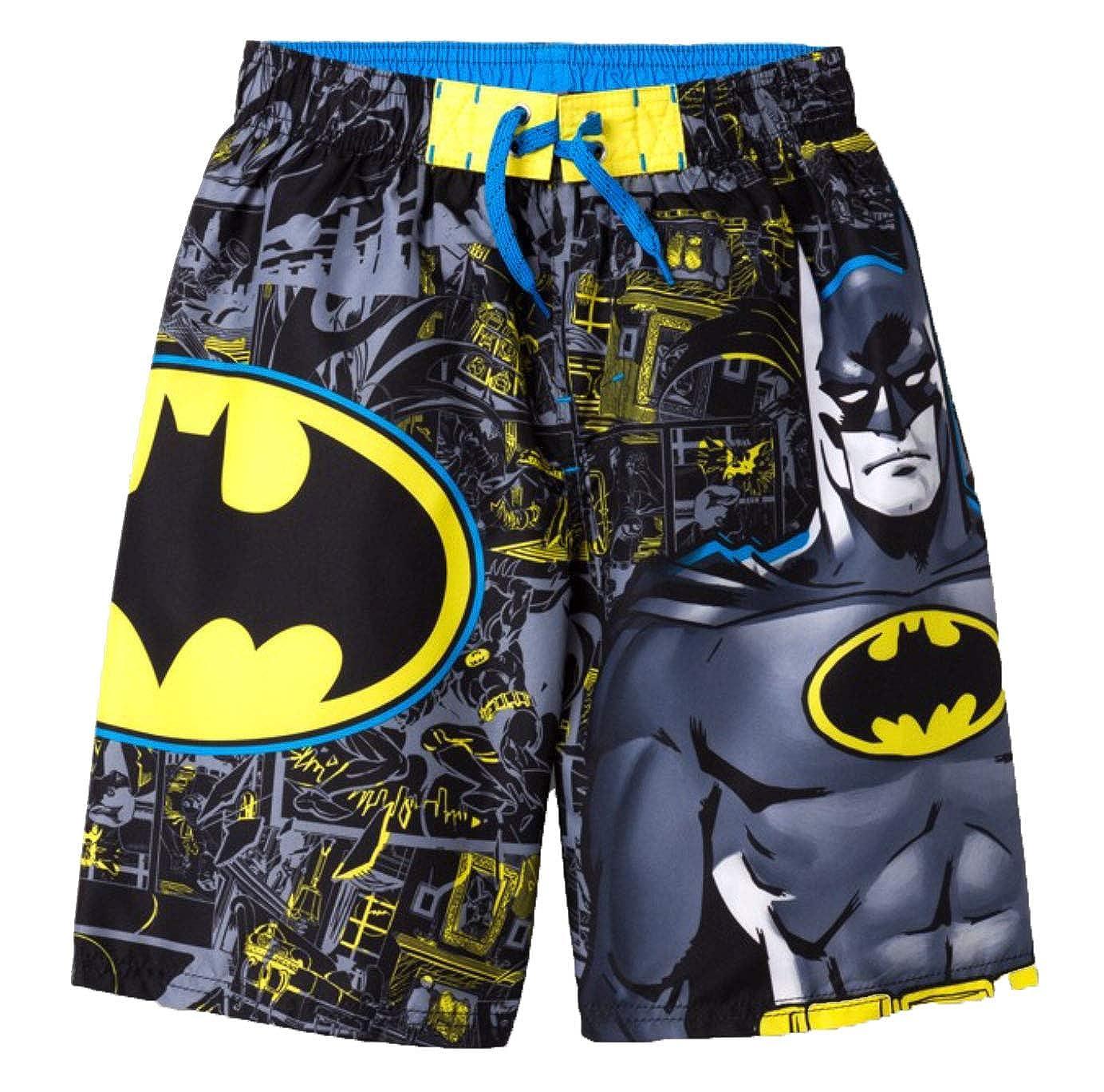 Dreamwear Boys Batman Swim Trunks XSmall Black