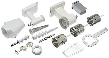rechercher l'original rétro grande sélection Kitchenaid Fppc Set accessori: setaccio, tritatutto, cilindro per grattugia
