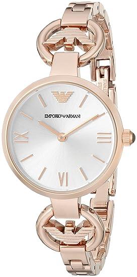 ad4e60b19e65 Reloj de pulsera para mujer - Emporio Armani AR1773  Amazon.es  Relojes