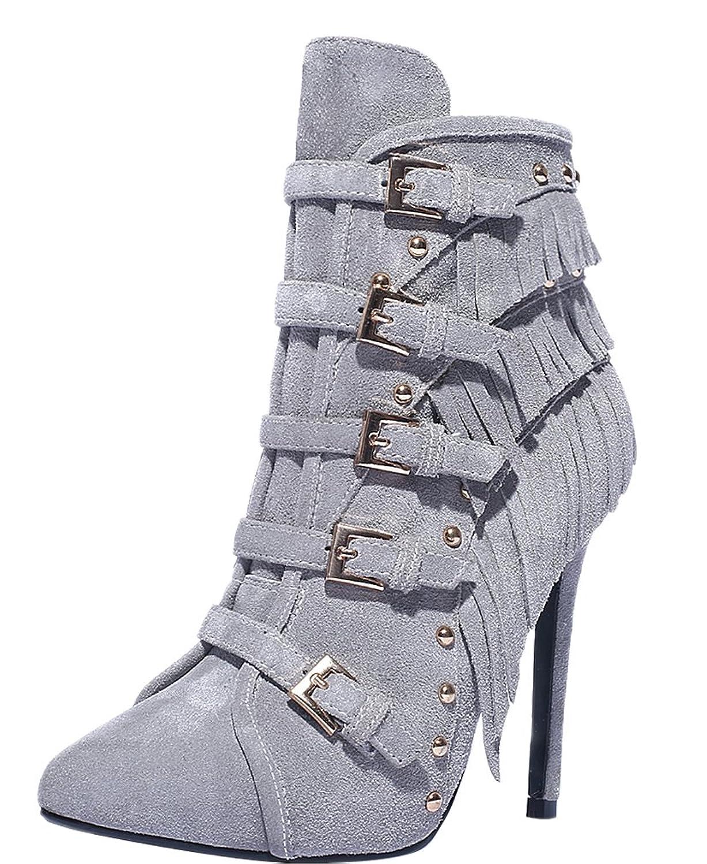 ELEHOT Womens Ebse 11.5CM high-heel Boots