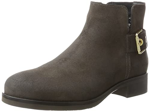 5de21bf99e6 Tommy Hilfiger Women s T1285essa Hg 1b Boots  Amazon.co.uk  Shoes   Bags