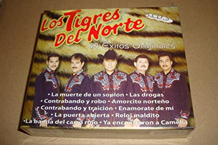 Los Tigres Del Norte 48 Exitos Originales (Audio CD 2008) Box set - Los Tigres Del Norte 48 Exitos Originales (Audio Cd 2008) Box Set - Amazon.com Music
