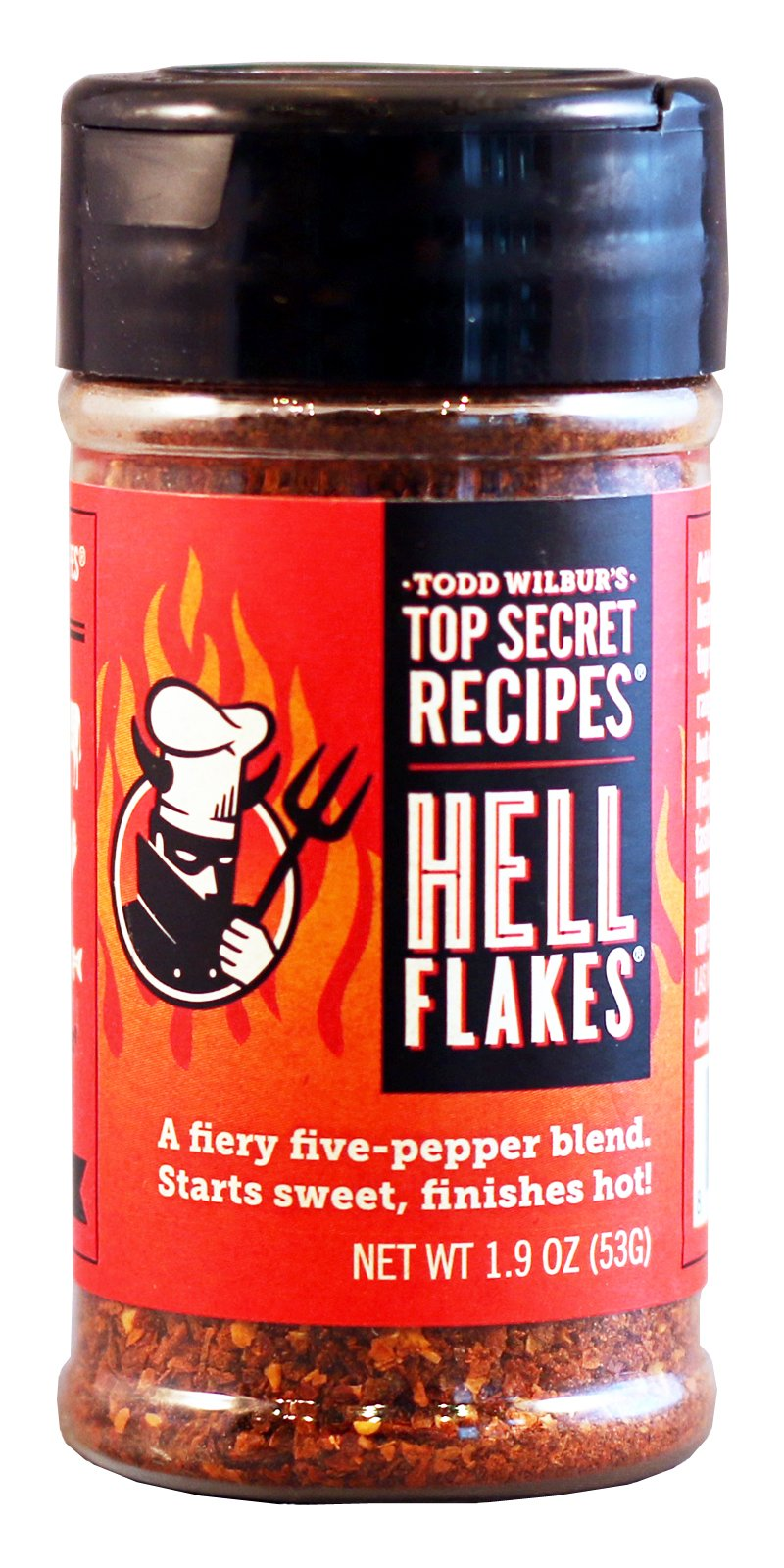Todd Wilbur's Hell Flakes - As Seen