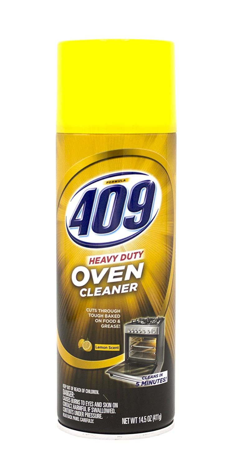 Amazon.com: 409 Heavy Duty Spray-On Oven Cleaner | Cuts Through Grease and  Grime on Contact, 14.5 ounces, Lemon Scent: Health & Personal Care