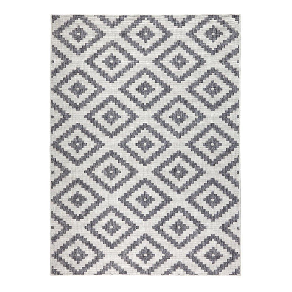 Bougari Malta Wendeteppich Wendeteppich Wendeteppich In- und Outdoorteppich grau   creme 80x250 31afde