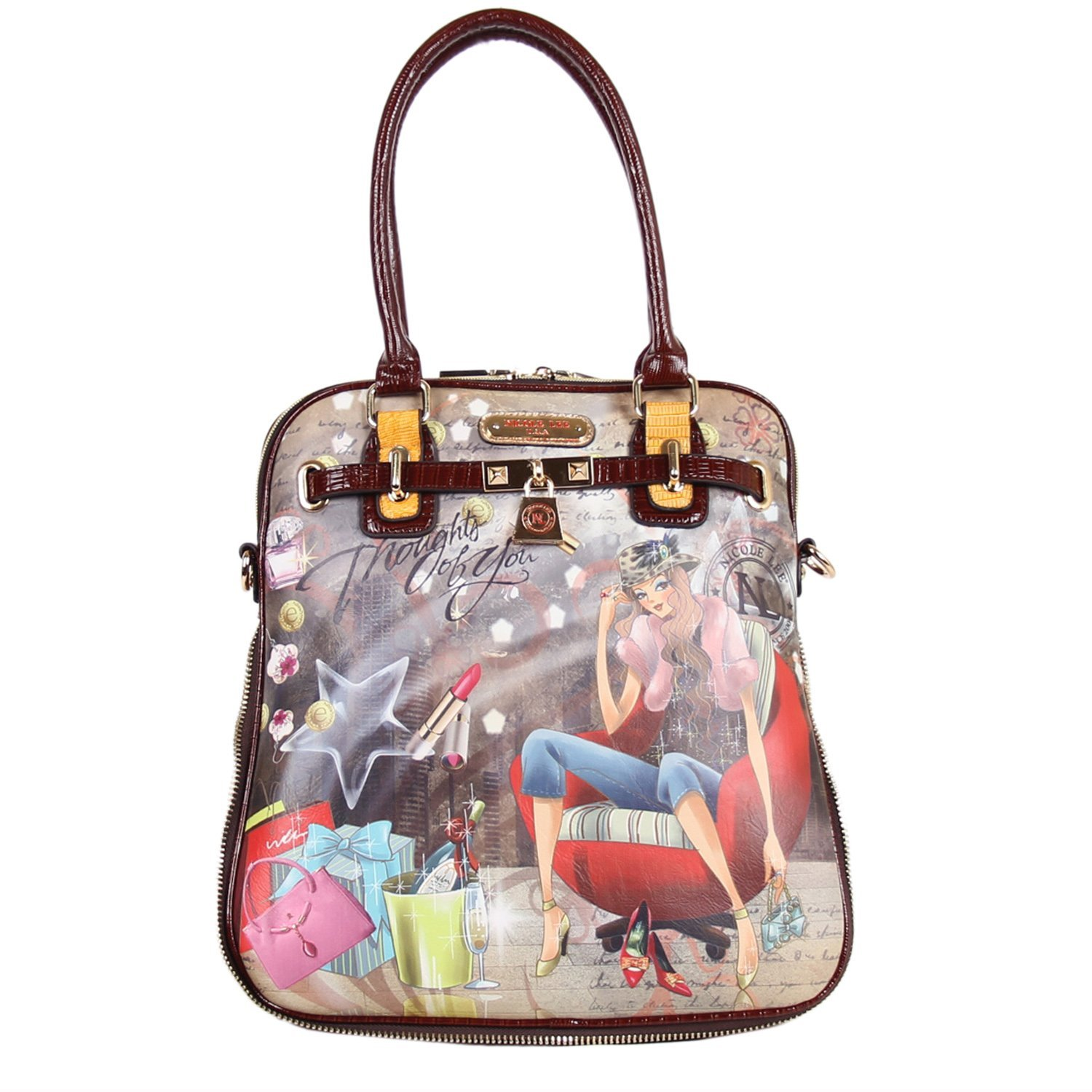 Nicole Lee PAOLA PRINT TOTE BAG ( Thoughts of You )