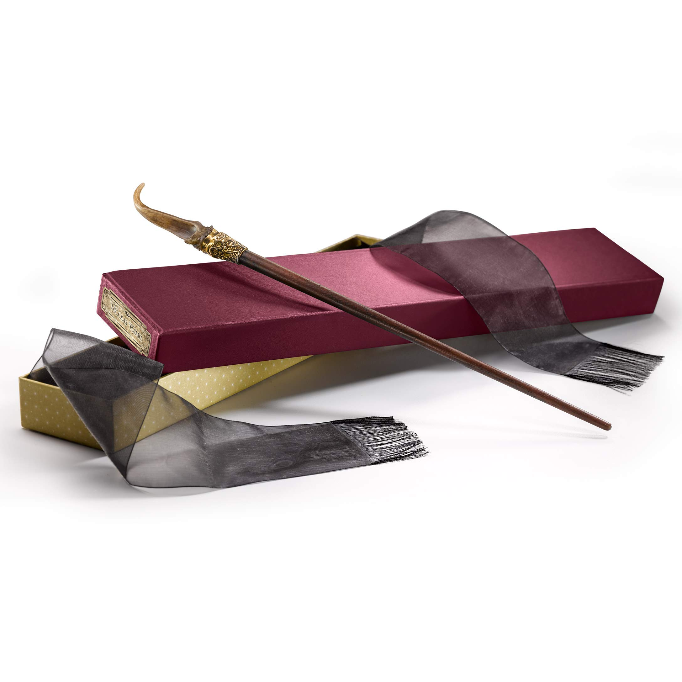 The Noble Collection Fantastic Beasts Nicolas Flamel Wand