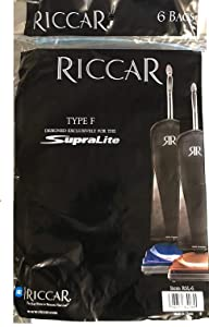 Riccar Supra Lite Upright Vacuum Bags - Designed to fit Simplicity Freedom Lightweight Uprights