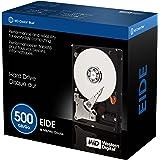 Western Digital 500GB EIDE Internal Hard Drive, 7200 RPM, 8 MB cache, Retail Box (WD5000JBRTL)