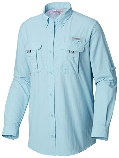 784973d5243 Columbia Women's PFG Bahama II Long Sleeve Shirt, Breathable, UV Protection