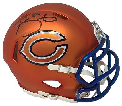 61c646a9 Amazon.com: Trey Burton Signed Chicago Bears Blaze Mini Speed Helmet ...
