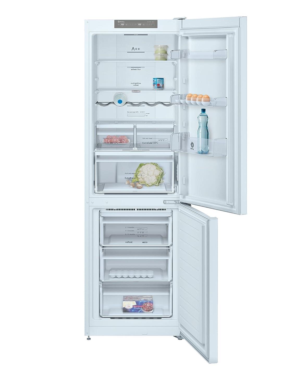 Balay 3KF6612WI Independiente 324L A++ Blanco nevera y congelador - Frigorífico (324 L, SN-T, 14 kg/24h, A++, Compartimiento de zona fresca, ...