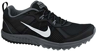 Nike Dual Fusion Trail Mens Black/Cool Grey/Wolf Grey/Metallic Platinum Running Shoes V16099