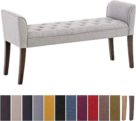 DESCANSA CON ESTILO: El diván tipo chaise longue Cleopatra tiene un elegante asiento tapizado con te
