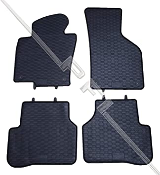 Vw Passat 3c B6 B7 Gummi Fußmatten Set Original Zubehör Auto