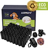 OUGE Dog Poop Bag, Pet Dog Waste Bags, 720-counts 48 Refill Rolls Biodegradable Dog Bags with 2 Dispensers & Leash Clip…