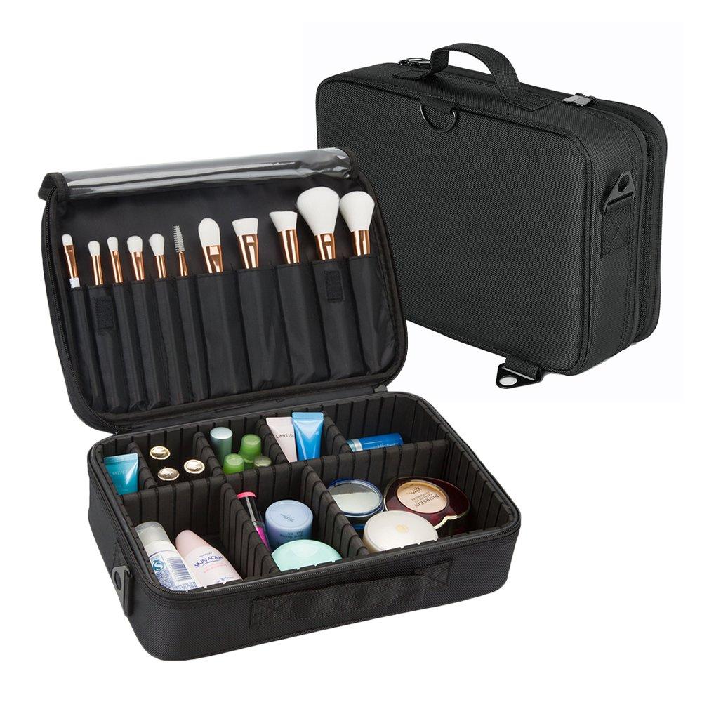 Pinceau de maquillage professionnel Hotrose sac à poignées sac à bandoulière avec sangle d'épaule (petite taille)