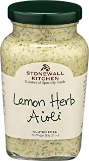 product image for Stonewall Kitchen Lemon Herb Aioli, 10 Ounces