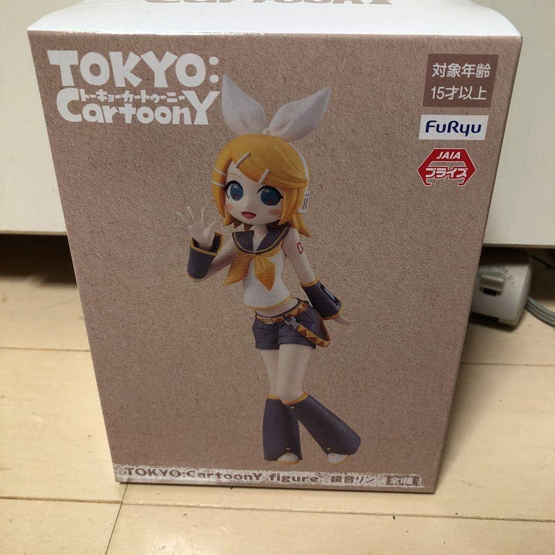 Kagamine Rin Tokyo CartoonY Figure 160mm FuRyu F//S Japan