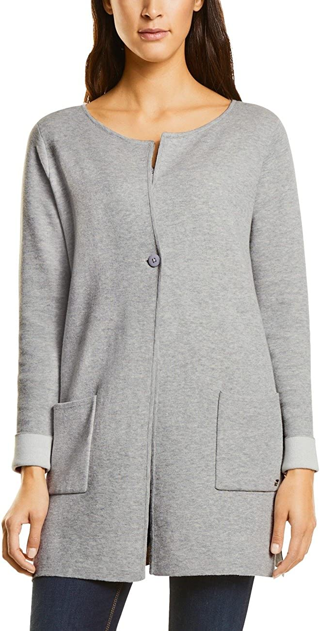 TALLA 42. Street One Doubleface Cardigan with Stardetail Mujer