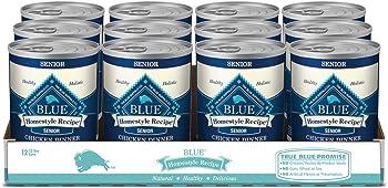 Blue Home-style Recipe Senior Wet Dog Food